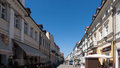 Plock old town in poland the summer Stock Photography