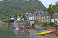 Plockton fishing village Royalty Free Stock Image