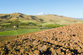 Plowed land Royalty Free Stock Photo
