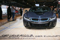 Plug in hybrid sports car bmw i frankfurt sept shown at the th iaa internationale automobil ausstellung on september frankfurt Royalty Free Stock Image
