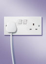 Plug and socket Royalty Free Stock Photo