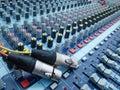 Plug and volume control knob Stock Photography