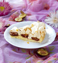 Plum cake Stock Photography