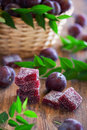 Plum marmalade Royalty Free Stock Photo