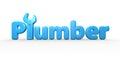 Plumber text logo