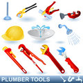 Plumber tools Royalty Free Stock Photography