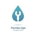 Plumbing company logo