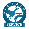 Plumbing service vector Stock Images