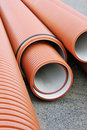 Plumbing tubes Stock Photography