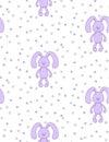 Plump bunny pattern