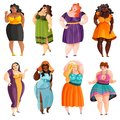 Plump Women Set