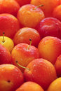 Plums background Royalty Free Stock Photography
