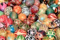 Plural - Ukrainian Easter eggs Royalty Free Stock Photo