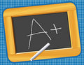 Chalkboard, Wood Frame, A Plus! Royalty Free Stock Photo
