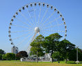 Plymouth hoe devon uk the big wheel Royalty Free Stock Images
