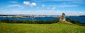 Plymouth Sound Pano Royalty Free Stock Image