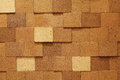 Plywood wall Royalty Free Stock Image