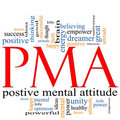 PMA Word Cloud Concept Stock Images