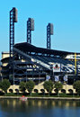 Pnc park pittsburgh located on the north shore in downtown is home to the mlb franchise the pirates is known by Royalty Free Stock Photos