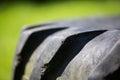 Pneu de pneu de tracteur Image libre de droits