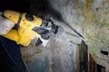 Pneumatic hammer Royalty Free Stock Photo