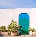 Południowa błękitny zieleń Fotografia Royalty Free