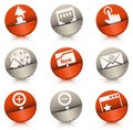 Pocket icons vector set of internet Stock Images