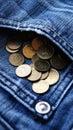 Pocket money PLN Royalty Free Stock Photo