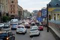 Podil neighborhood in Kyiv, Ukraine