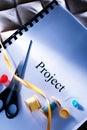 Podium project idea Royalty Free Stock Photo