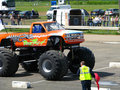 Podzilla Monster Truck Royalty Free Stock Photo