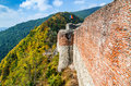 Poenari Fortress, Romania Royalty Free Stock Photo