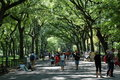 Literary Walk in Central Park, New York City