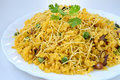 Poha indian street food snack Royalty Free Stock Photos