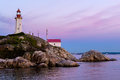 Point Atkinson Lighthouse, West Vancouver, Canada Royalty Free Stock Photo