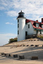 Point Betsie Lighthouse Tower Royalty Free Stock Photography