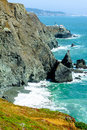 Point Bonita Lighthouse in California, USA Royalty Free Stock Photo