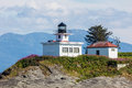 Point Retreat Lighthouse Royalty Free Stock Photo