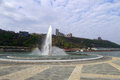 Point state park in pittsburgh pennsylvania Royalty Free Stock Photo