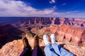 Point Sublime Grand Canyon Stock Photos
