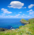 Pointe du van brittany northern france Royalty Free Stock Images