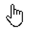 Pointer cursor