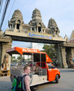 Poipet cambodia feb border crossing into feb it is a popular point between thailand and Royalty Free Stock Image
