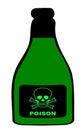 Poison Bottle Royalty Free Stock Photo