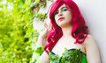 Poison Ivy from Batman Cosplay