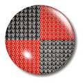 Poker 4 Card Suit Button Orb Royalty Free Stock Images