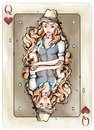 Poker Card Design. Game Icon and Illustrations. Fantasy Art. Concept Art