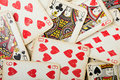 Poker gambling cards Royalty Free Stock Image