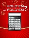 Poker Odds Calculator Royalty Free Stock Photo