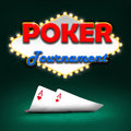Poker tournament gambling background color Royalty Free Stock Photos